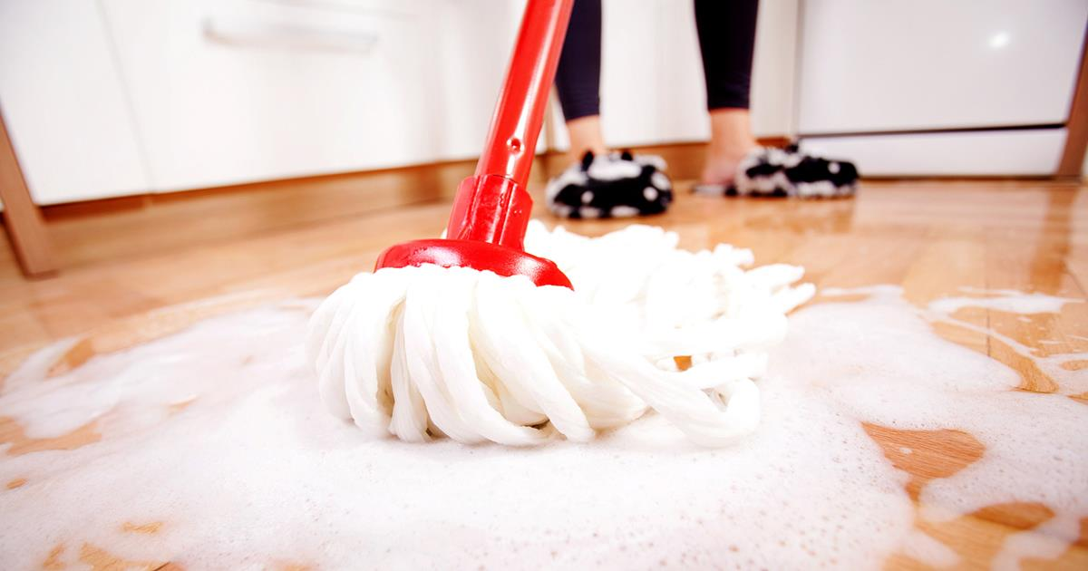 Why You Need to Disinfect, Not Just Clean Your Floors
